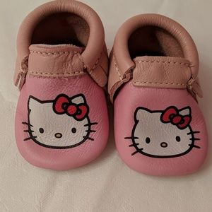 Hello Kitty Freshly Picked Soft Sole Moccasins